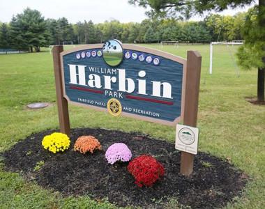 Harbin Park Sign
