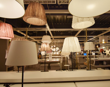 IKEA Lighting Room