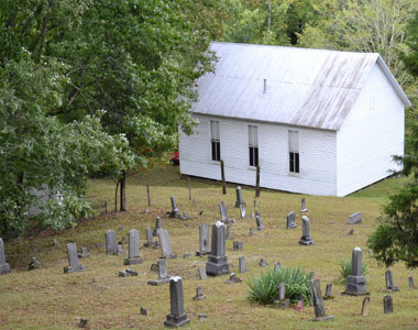 Indian Creek Pioneer Church and Burial Ground