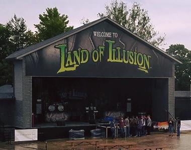 Land of Illusion Logo