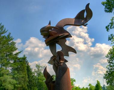 Miami University Sculpture Three