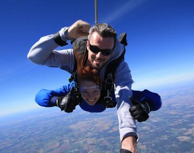 Sky Diving Jump