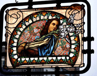 BeauVerre Riordan Stained Glass Studio Window