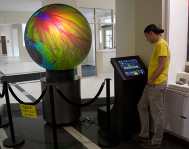 KARL E. LIMPER GEOLOGY MUSEUM OmniGlobe