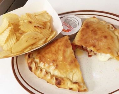 All 8 Up Calzone