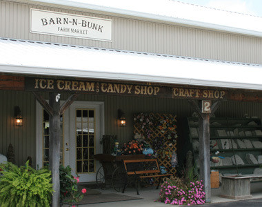 Barn-n-Bunk Ice Cream and Candy Shop