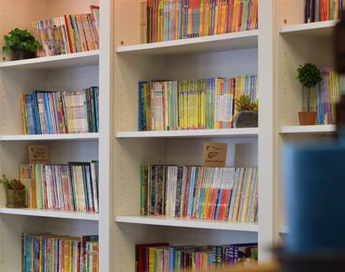 Book Bums Bookshelf