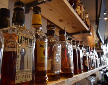 Bourbon Kitchen Bourbon Wall