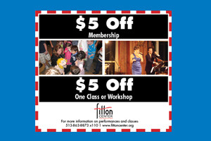 Fitton Center Coupon