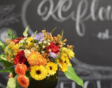KC Flower Farm arrangement