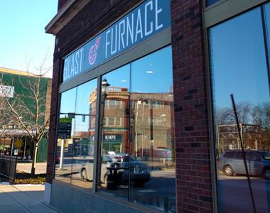 Blast Furnace Pizza exterior