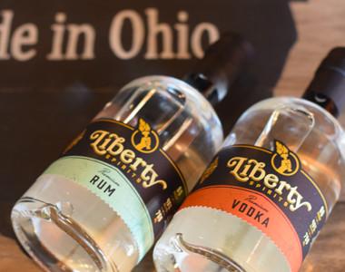 Liberty Spirits bottles