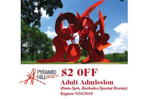 Pyramid Hill Sculpture Park & Museum Coupon
