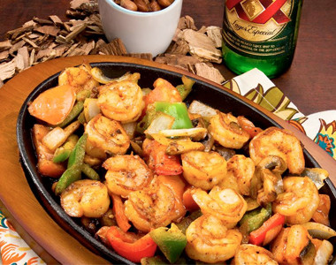 Shrimp Fajitas Cazadores Middletown, Ohio