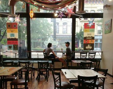 True West Coffee Downtown Hamilton Interior