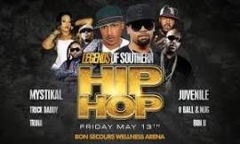 Legends of Southern Hip Hop with Mystikal, Juvenile, Trick Daddy, Bun B, 8 Ball & MJG, and Pastor Troy
