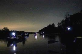 Paddling by Moonlight