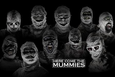 Here Come The Mummies Featuring Peelander-Z