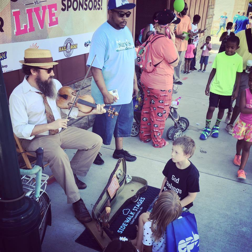 Buskers Festival at the Chattanooga Market