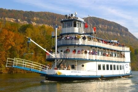Southern Belle Riverboat's Fall Foliage Cruises