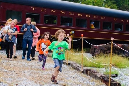 Tennessee Valley Railroad's Halloween Eerie Express