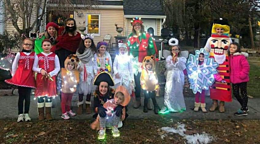 Christmas Caroling 2018 in Village of Wappingers