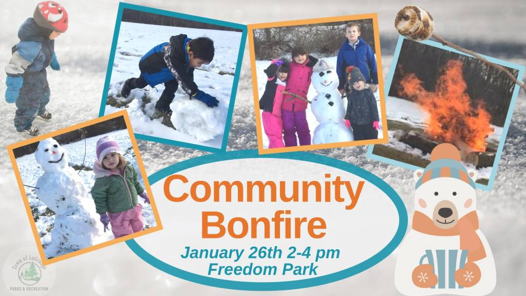 Community Bonfire - Winter Fund Day at Freedom Park in LaGrange