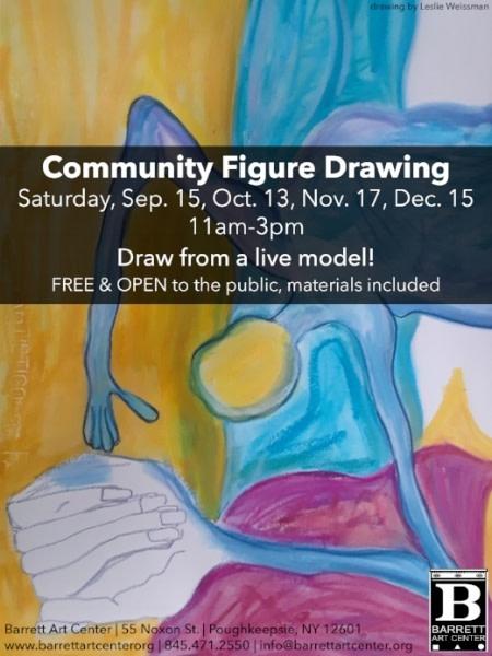 Community Figure Drawing at Barrett Art Center