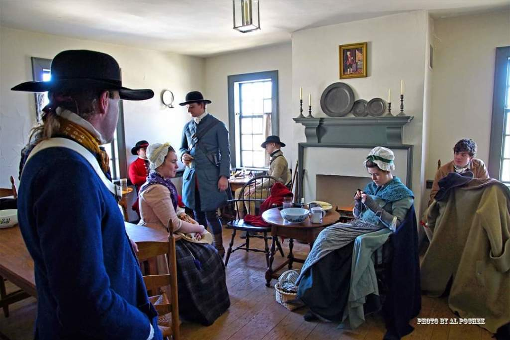 Living History Day at the Elmendorph Inn
