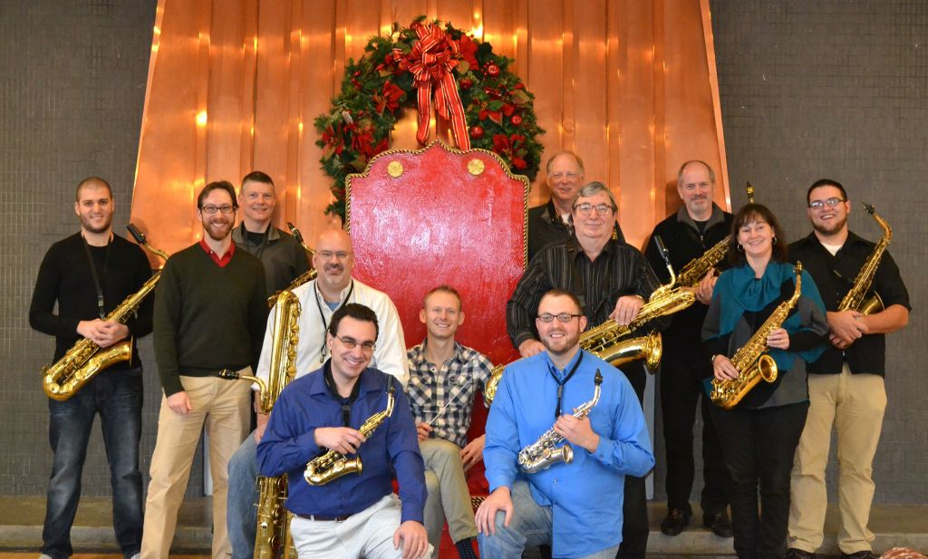 7th Annual Hudson Valley Saxophone Orchestra Christmas Concert at Arlington High School