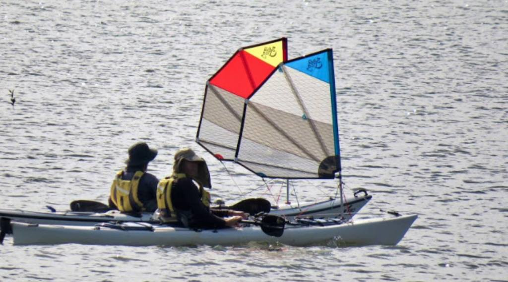 Kayak Sailing Clinic - Learn to Sail Your Kayak at The River Connection