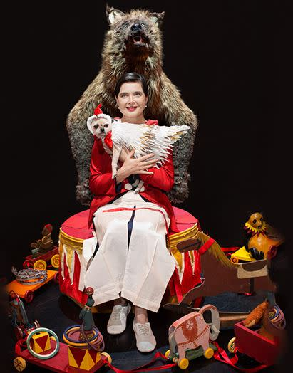 """Isabella Rossellini """"Link Link Circus"""" at Bard College Fisher Center for Performing Arts"""