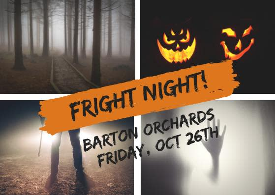 Fright Night at Barton Orchards