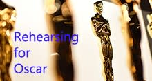 """Rehearsing for Oscar"" at Center for Performing Arts at Rhinebeck"