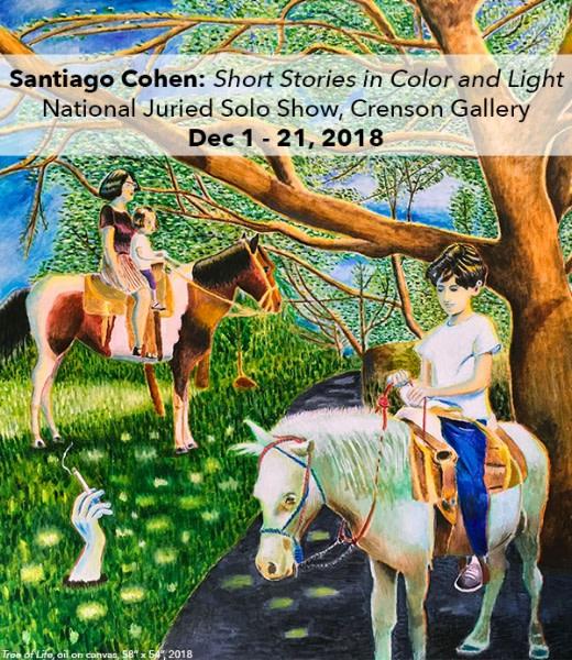 Santiago Cohen: Short Stories In Color and :Light Opening Reception at Barrett Art Center