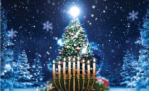 East Fishkill Christmas Tree and Menorah Lighting