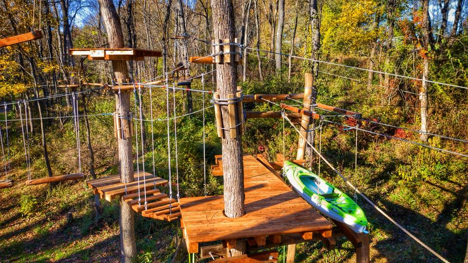Treetop Adventures Opening Weekend at Barton Orchards