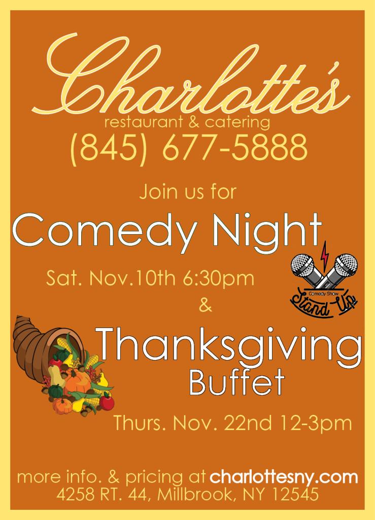 Thanksgiving Dinner at Charlotte