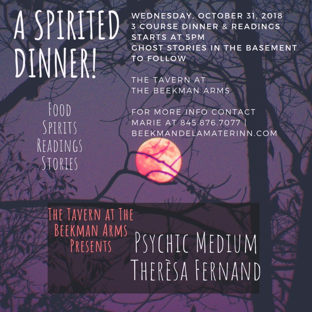 Psychic Dinner at The Beekman Arms