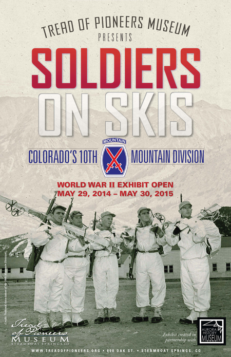 Soldiers on Skis World War II exhibit open through May 30, 2015