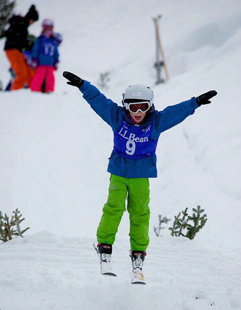 Winter Sports Club insures every child who has the desire to participate is given that opportunity