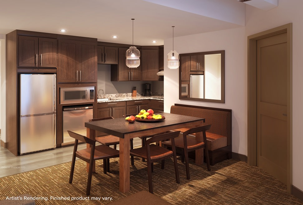 Two-Bedroom Villa Kitchen