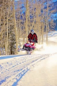 Backcountry Snowmobiling