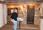 Cabin Exhibit at the Tread of Pioneers Museum