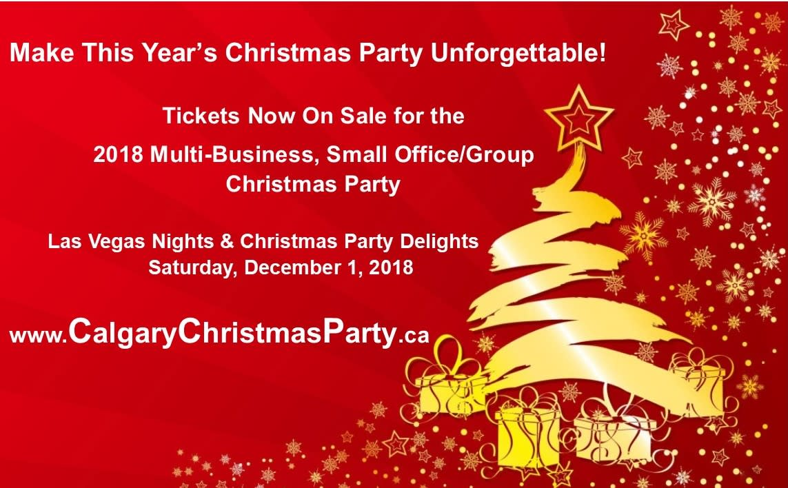 Multi-Business, Small Office/Group Christmas Party - An Evening of ...