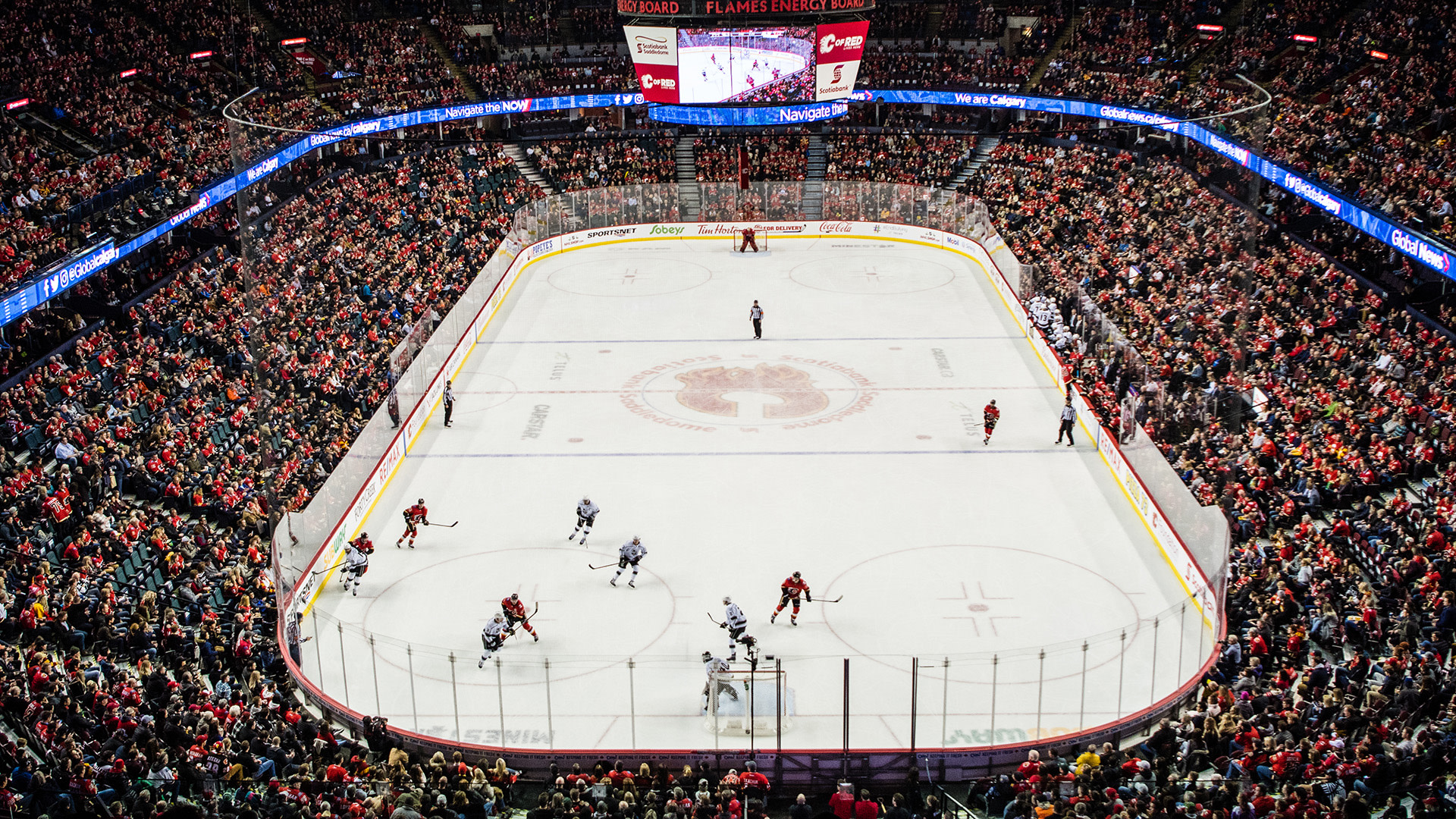 CALGARY FLAMES VS. MONTREAL CANADIENS