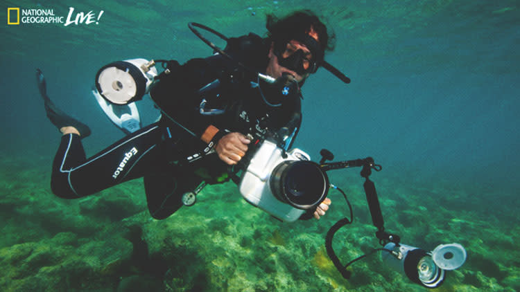 Arts Commons Presents National Geographic Live- Standing at the Water's Edge with marine biologist and photographer Cristina Mittermeier