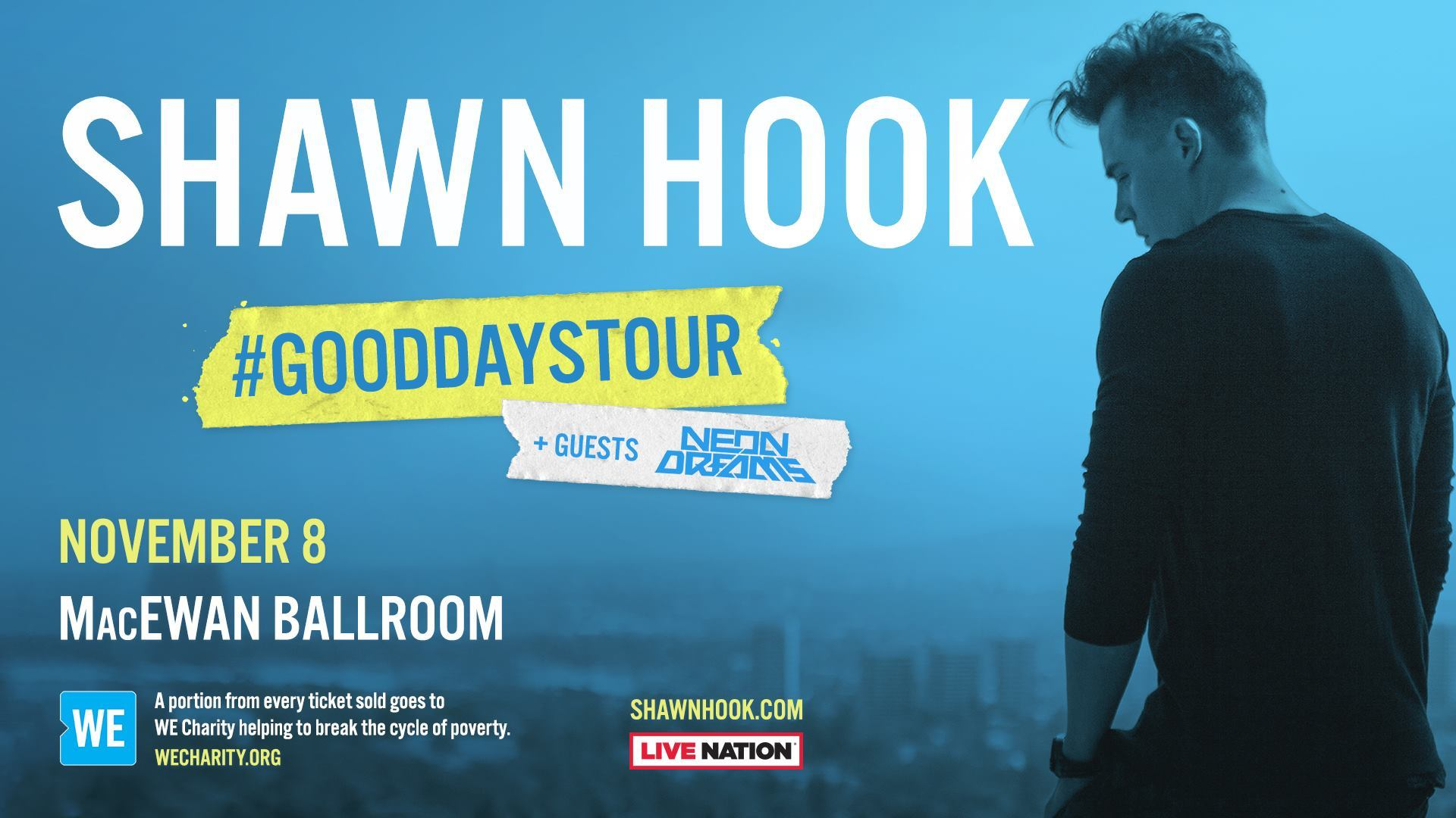 Shawn Hook with guests Neon Dreams
