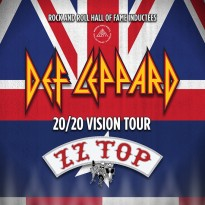 20/20 Vision fall tour with Def Leppard with ZZ Top