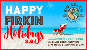 Happy Firkin Holidays 3.0